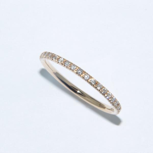 anello oro con brillantini
